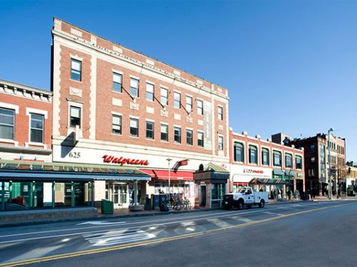 625 Mass Ave Cambridge Office & Retail Building For Lease
